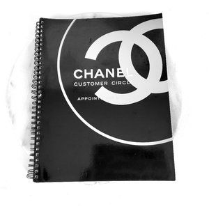 CHANEL Customer Appointment Spiral Notebook
